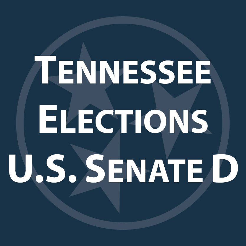 "Graphic that says ""Tennessee Elections Senate D"""