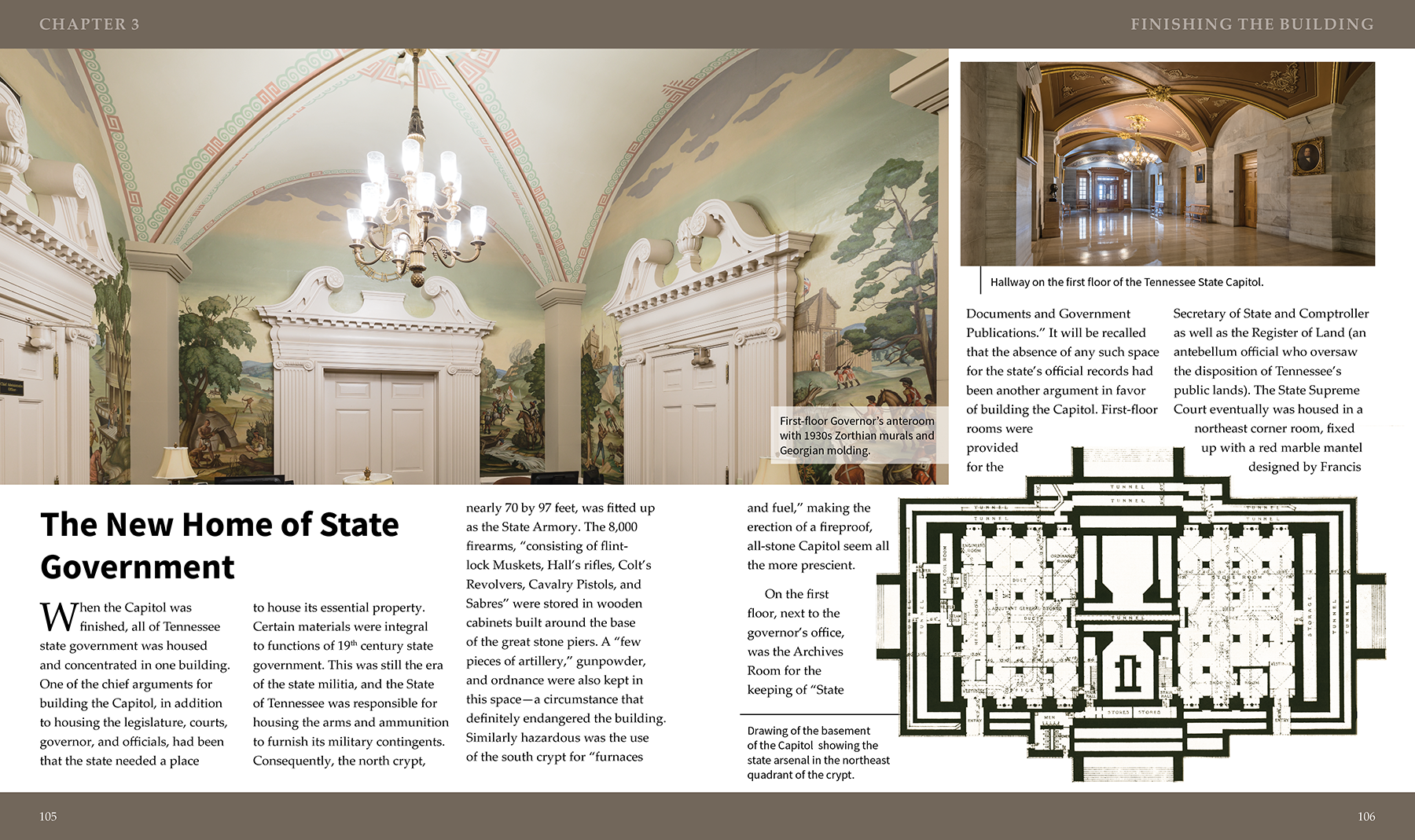 Tennessee State Capitol Book Pages