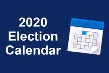 Election 2020 Calendar