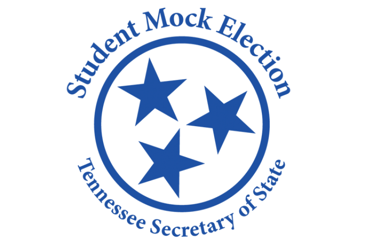 Student Mock Election Logo
