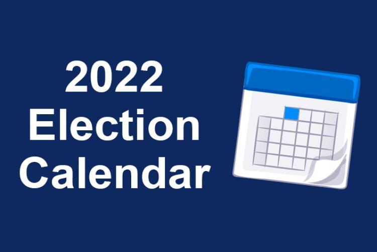 Gcps Calendar 2022 23.Election Calendar 2022