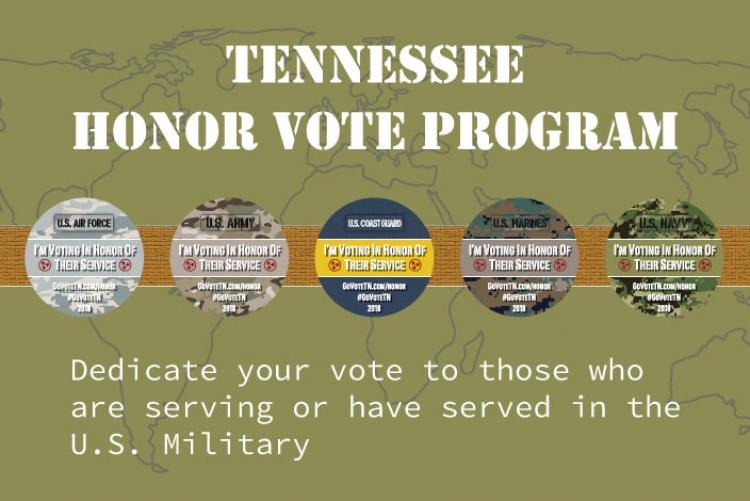 Tennessee Honor Vote logo
