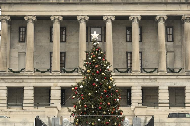 Tennessee Capitol Christmas Tree