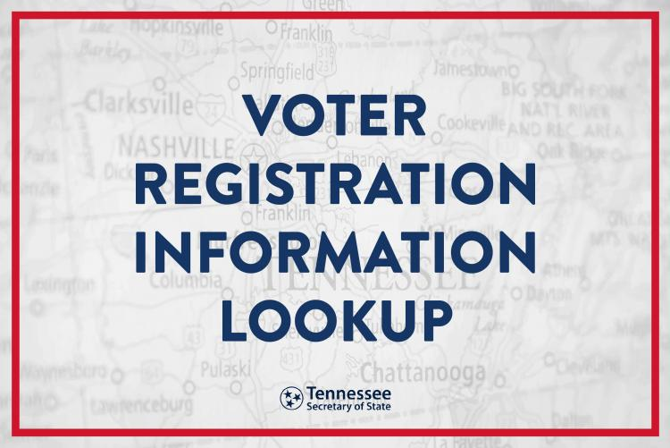 Voter Registration Information Lookup