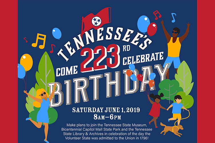 Celebrate Statehood Day Saturday, June 1