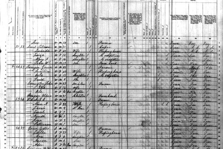 state of tennessee public birth records