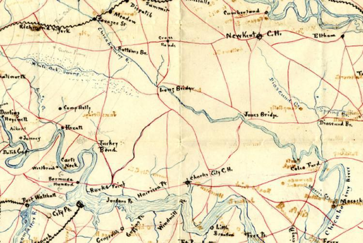 Digitized Historic Maps at the Tennessee State Library and Archives