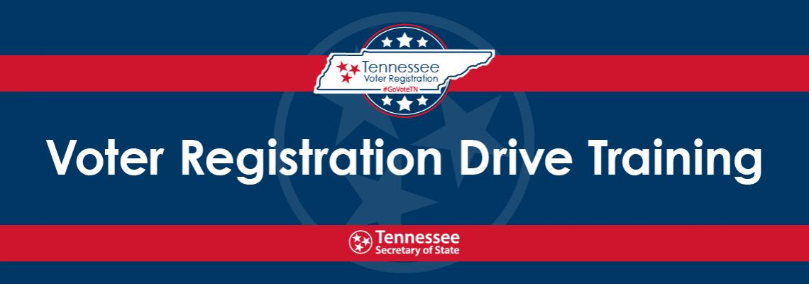 Voter Registration Drive Training