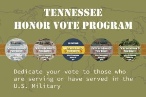 2018 Tennessee Honor Vote logo