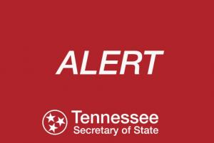 Tennessee Secretary of State Cautions Voters